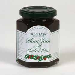 Plum Jam with Mulled Wine