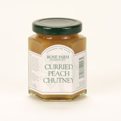 Curried Peach Chutney