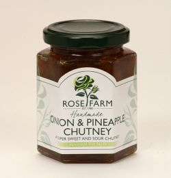 Onion and Pineapple Chutney
