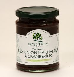 Red Onion Marmalade with Cranberries